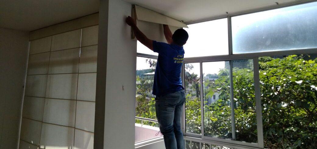 Mantenimiento de cortinas, lavado de paneles, persianas Cali