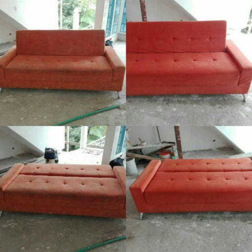limpieza de muebles de sala